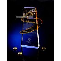 五角星水晶纪念品定做,上海奖杯奖牌定做免费刻字水晶供应