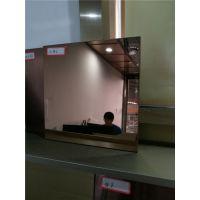 真空电镀褐色8k褐色镜面不锈钢板 莫戈金属专业不锈钢板表面处理厂家