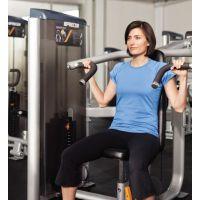 美国必确胸部推举练习器C001ES进口健身房设备