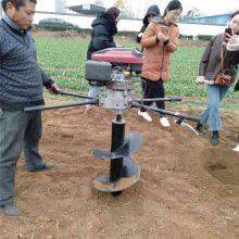 启航牌便携式电线杆挖坑机 泥土打洞机 电缆电线挖坑机型号
