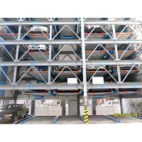 供应四川莱贝PSH7六层升降横移类立体停车库设备