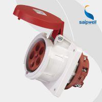 【厂家直销】SP-1252直插式暗装插座 5孔工业插座 IP44防水插座