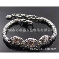 不锈钢饰品铸造|精铸造不锈钢手链|不锈钢蛇头手链批发