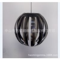 厂家直销创意艺术餐厅灯罩卧室吊灯现代简约南瓜吊灯亚克力餐吊灯