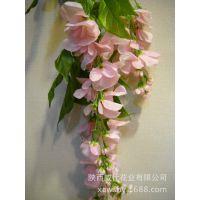 亚洲 中国 西安 威仕亚洲 仿真紫藤花豆花串婚礼庆典商场家居装饰
