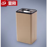 提供写字楼方形烟灰盅大堂果壳桶电梯口垃圾箱直销