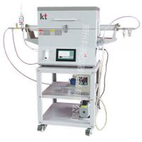 科探仪器设备 智能恒压触摸屏管式炉 气氛保护或真空高温电炉