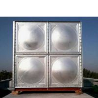 武威生活水箱 方形水箱 武威消防水箱 304不锈钢 现场焊接 RJ-L50
