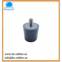 橡胶制品 专业订做五金螺丝包胶 圆柱形聚氨酯缓冲防震垫 减震器