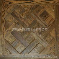 供应厂家直销优质水曲柳实木艺术拼花地板