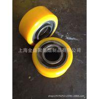 聚氨酯驱动轮滚轮包胶输送轮 7080叉车轮