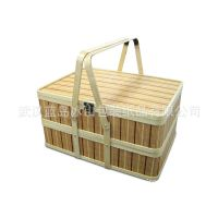 水果蔬菜包装篮,竹篮批发,中秋月饼竹篮,高档礼品竹篮