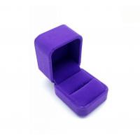 包装盒首饰绒布海绵 戒指包装盒