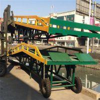 汕头集装箱卸货平台、三良机械、集装箱卸货平台高度