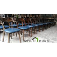 工厂直销上海咖啡厅实木椅子 简约实木椅子订做 上海韩尔家具厂