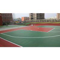 厂家供应山东地区篮球场/网球场/排球场/乒乓球场环保硅PU材料
