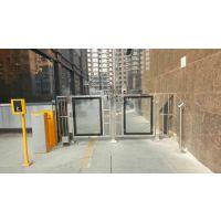 四川成都小区出入口刷卡开门机电动闭门器成都门禁系统小区通道自动开门