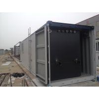 污水设备集装箱定制 环保设备外壳 到忠合集装箱厂家