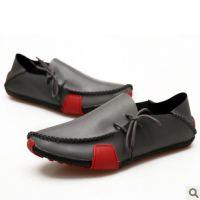 时尚潮流正品太极鞋个性男牛皮皮鞋舒适平跟单鞋休闲鞋男士鞋