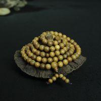 2015新款美洲绿檀佛珠手串108颗民族风念珠手链男女款木质手饰品
