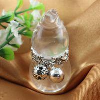 供应925纯银批发和加工泰银葫芦水晶吊坠 泰银吊坠