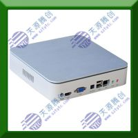 深圳厂家 迷你MINI高清电脑主机 款迷你ITX机箱 双核4线程