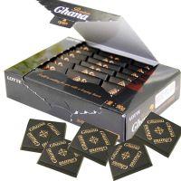 微商 淘宝一件代发 韩国进口lotte乐天黑加纳纯黑巧克力90g/盒