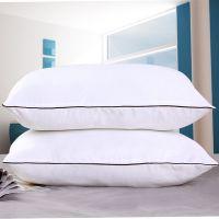 厂家直销床上用品双人枕头酒店礼品专用枕芯一件代发保健旅行枕