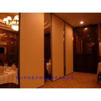 重庆餐厅活动隔断屏风趟门厂家