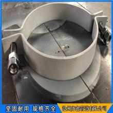 齐鑫 D1长管夹 标准型号三孔短管夹 现货钢制管夹促销中
