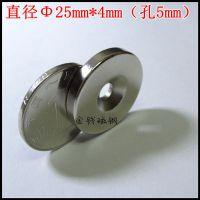 【金聚进】超薄强力磁铁钕铁硼强磁背胶强磁铁吸铁石带双面胶圆形 25*2