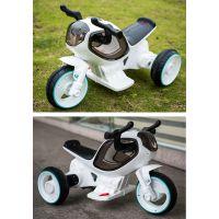充电摩托车带音乐三轮车童车电动三轮摩托
