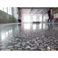 中堂工厂旧水磨石地面镜面翻新-樟木头厂房旧地板起灰起砂处理-王者归来