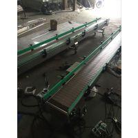 订做非标链板输送机,重型链板输送线