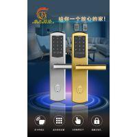 放龙科技J11智能门锁密码锁IC卡锁