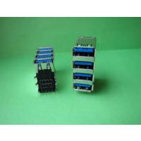 USB A母3.0连接器-四层USB接口90度弯脚插脚母座*台式电脑专用alt