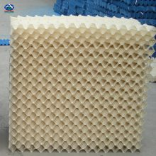 横流塔填料有哪些种类 玻璃钢PVC填料一吨多少钱 点波悬挂淋水片 河北华强