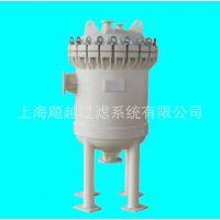 供应上海飚越BY-W2聚丙烯PP袋式过滤器 PP多袋式过滤器