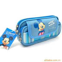 供应PVC笔袋 尼龙笔袋 卡通笔袋 迪士尼系列笔袋 加工笔袋