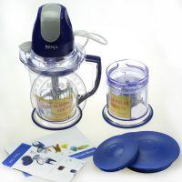 ninja搅拌水果汁机沙冰机斩冰器蓝色NINJA榨汁机