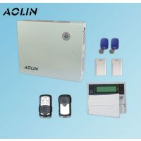 奥林4099总线制防盗报警器店铺红外线门窗磁无线有线智能安防主机系统