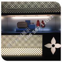 LV陈列道具 不锈钢陈列块展示鞋块道具定制加工厂专业生产