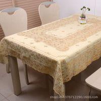 防水防油免洗塑料桌布  pvc台布茶几布 餐桌布 耐高温 欧式田园