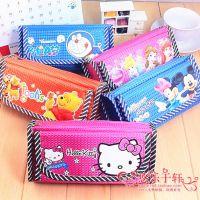 迪士尼卡通大容量铅笔袋 韩国文具盒文具袋 学生创意多功能笔袋