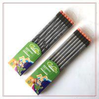 顺手牌 圆杆滚印系列铅笔 塑料环保铅笔 HB带橡皮头铅笔 LOGO定制