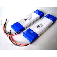 聚合物锂电池生产厂商深圳言九电子公司7.2V 2100MAH聚合物高容量智能电池包