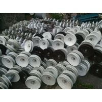 浙江温州大量回收瓷瓶绝缘子厂家 价格!