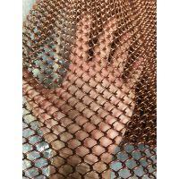 广州厂家供应铝金属装饰垂帘网 金属装饰网 窗帘 特殊规格特殊定做