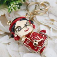 情侣钥匙扣批发 金色新娘2382-4 创意礼品 钥匙扣钥匙配饰 促销