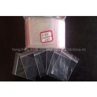 transparent plastic zipper bag